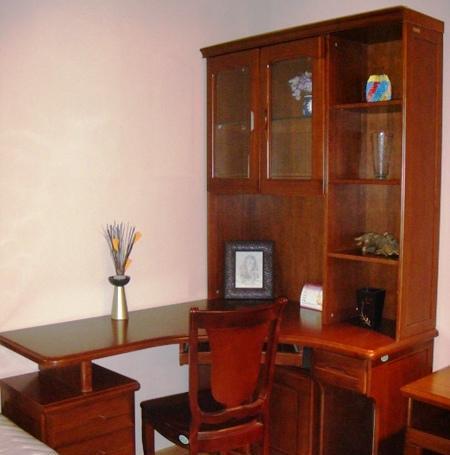谷氏书房家具-转角书桌G-5