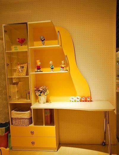 我爱我家儿童家具FM10B书柜+书桌组合FM10B