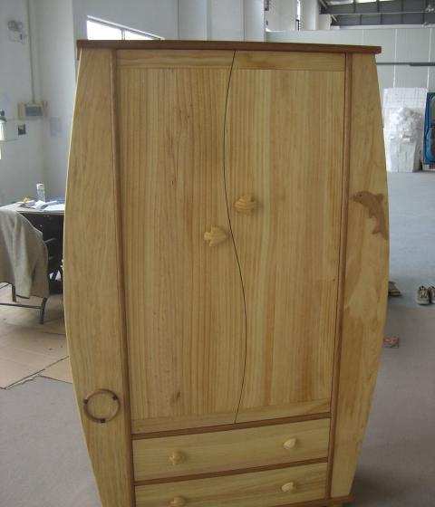 爱心城堡儿童家具衣柜J002-WR1-NRJ002-WR1-NR