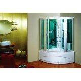 英皇带缸单人整体淋浴房EF010