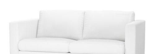 宜家卡斯塔(布勒丁 白色)双人沙发