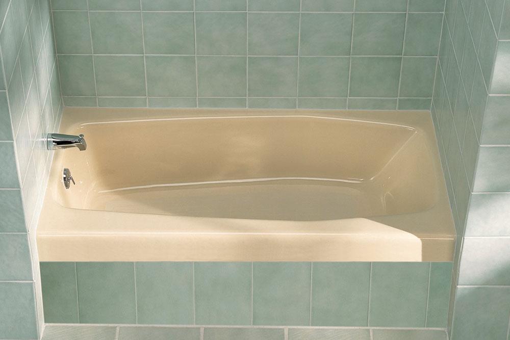 科勒 维利治 100mm短裙边铸铁浴缸K-718-JAK-717-JA/K-718-JA