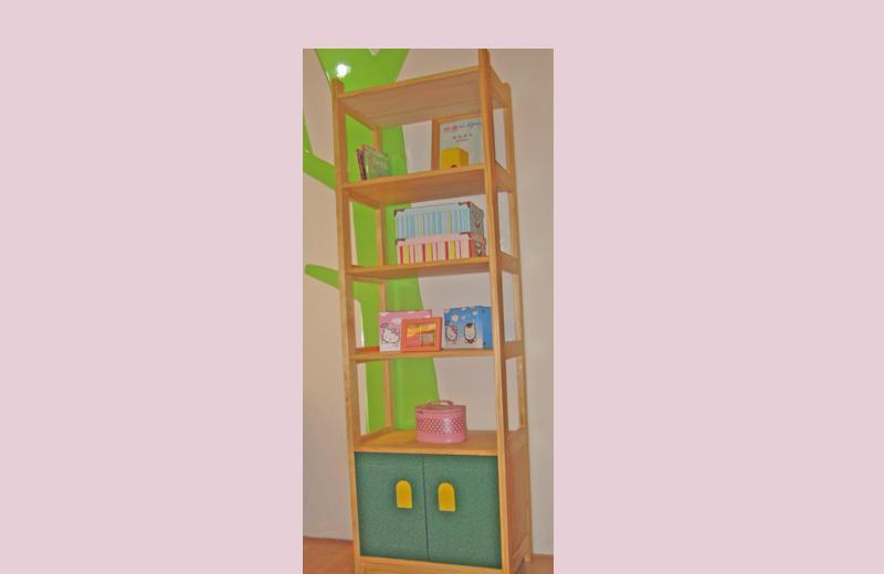 爱心城堡儿童家具书架J023-BC1J023-BC1