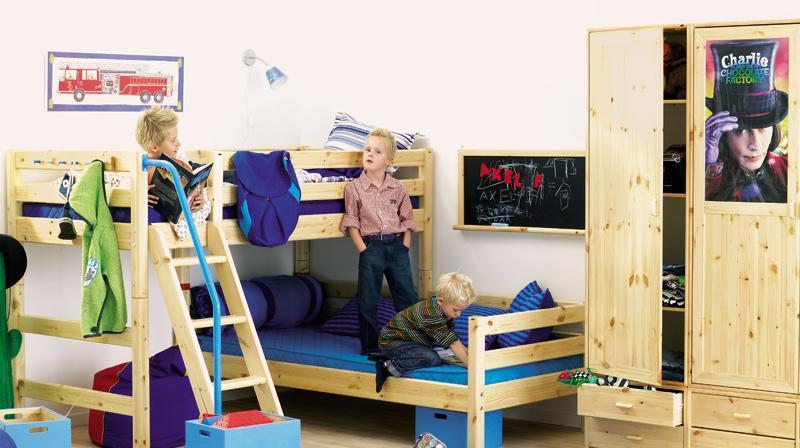芙莱莎儿童床L型双层床CORA213CORA213