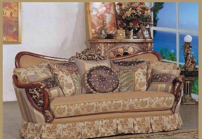 雅梦娜欧E296-3美式沙发E296-3