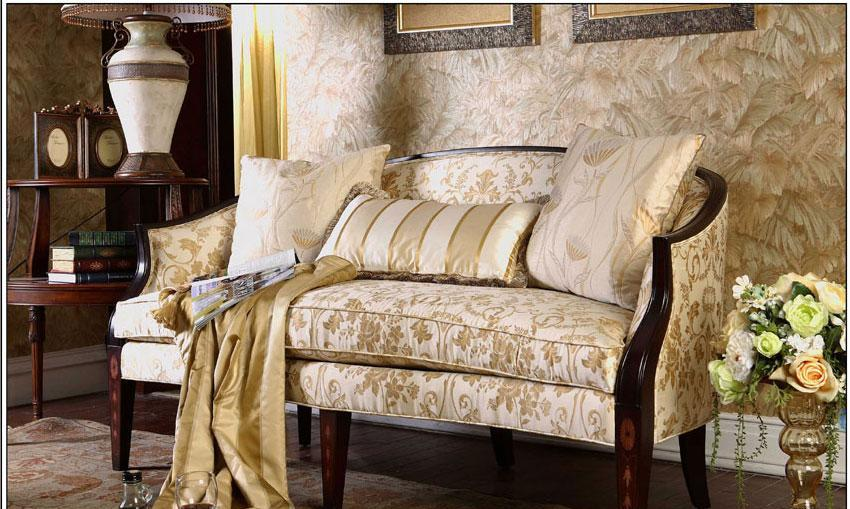 梵思豪宅客厅家具OP5127SF2p沙发OP5127SF2p