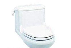 美标安提克CP-2036节水型加长连体座厕(白)CP-2036