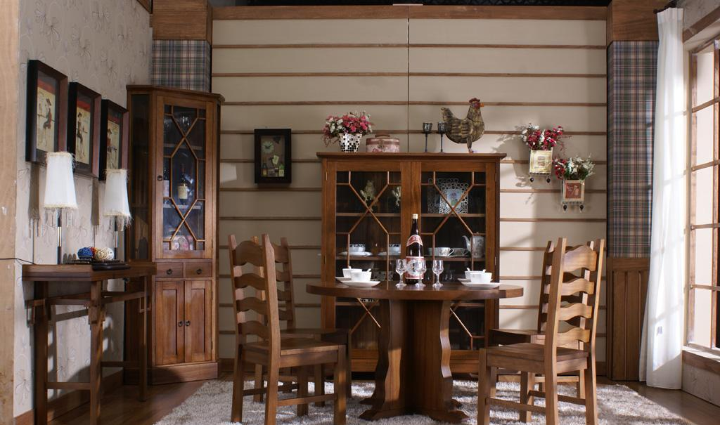 树之语CZ-5002温馨系列圆餐桌CZ-5002