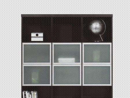 北山家居书房家具书柜2AA022A112AA022A11