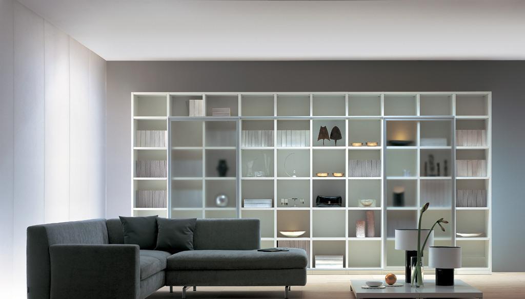 瑞时赛博板式书柜-PVC赛博-板式