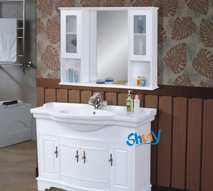 顺一J068实木浴室柜