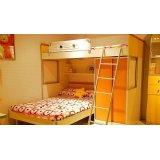 我爱我家儿童家具床架FA12AA+C+FK10+FA21-12-01