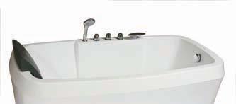 杜菲尼DW3716五件套龙头浴缸DW3716