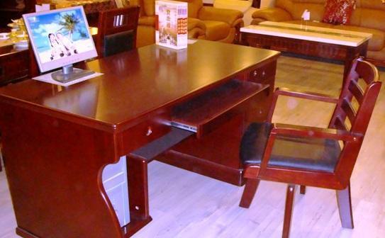 光明实木家具-书房家具系列-电脑字台001-6101-1001-6101-1500
