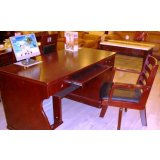 光明实木家具-书房家具系列-电脑字台001-6101-1
