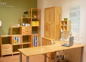 雅琴居儿童松木转角书桌家经典星星索系列S62001S62001-10X