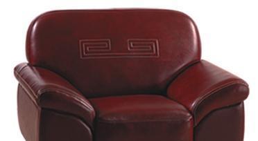 联邦家私2761单人沙发(9003皮)<br />2761