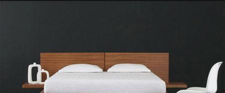 北山家居卧室家具双人床2BB370C152BB370C15