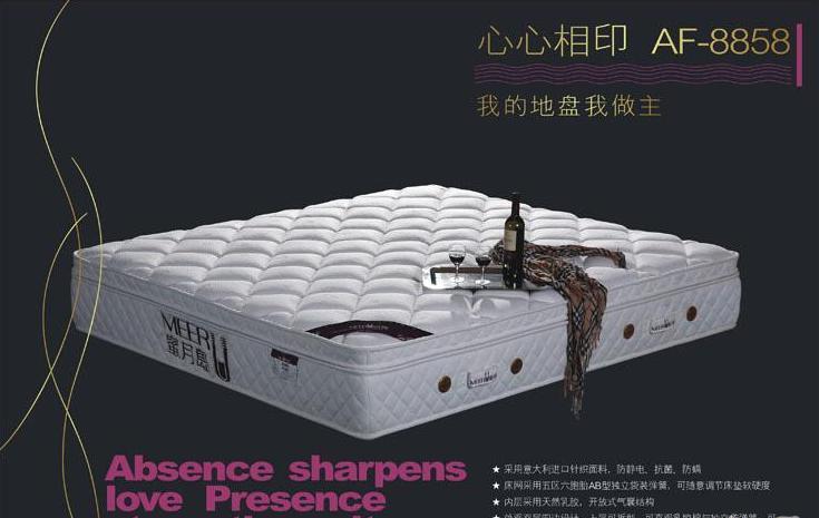 蜜月岛AF-8858心心相印床垫