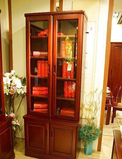 光明书房家具两门书柜001-6312F-831001-6312F-831