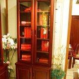 光明书房家具两门书柜001-6312F-831