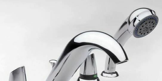 乐家卫浴莫拉系列台式四孔浴缸龙头527306580527306580