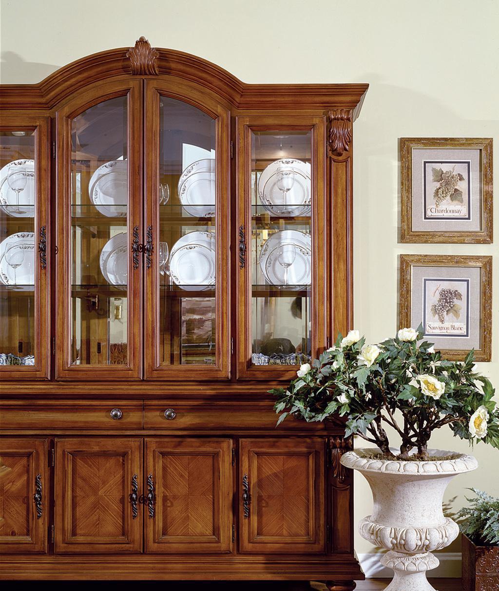 美克美家瓷器柜-维多利亚系列维多利亚