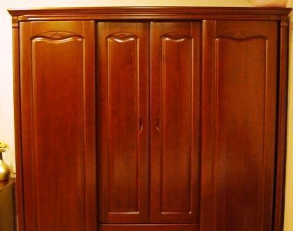 谷氏实木家具-卧室家具-两门推拉柜G-2G-2