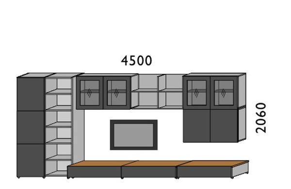 挪亚家厅柜组合D005BD005B