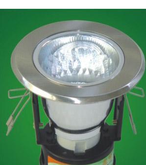 本邦新名雅珠钻砂平面斜边扫镍压铸环立式筒灯BT