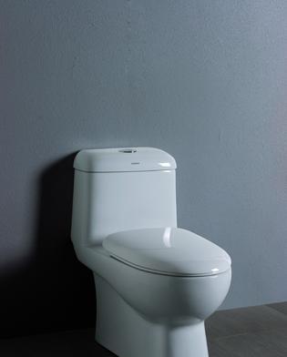 澳斯曼卫浴产品双按连体座便器AS-1216AS-1216