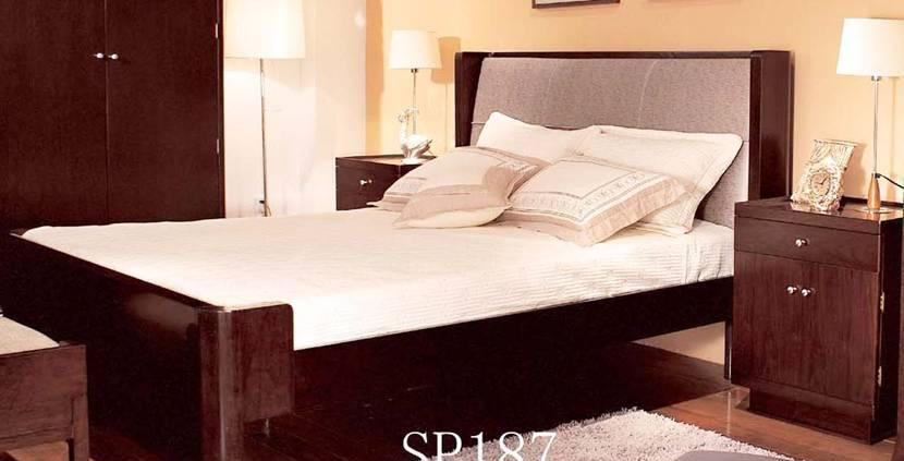 赛恩世家卧室家具双人床(1.8×2.0)SP187SP187