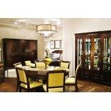标致餐厅家具-德曼系列-餐桌餐椅2