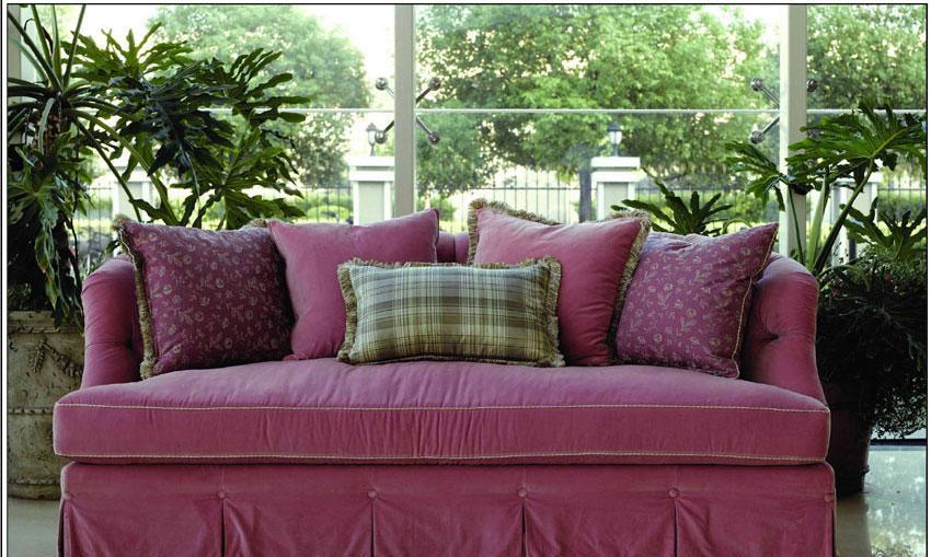 梵思豪宅客厅家具OP5095SF3p沙发OP5095SF3p