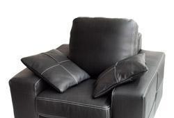 华诺6396单人皮沙发