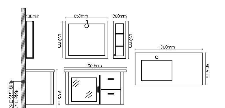 英皇浴室柜SP-3110SP-3110