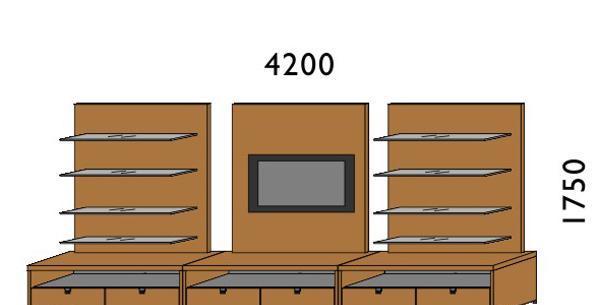 挪亚家厅柜组合K121K121