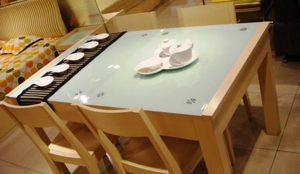 五木板式家具餐桌-WD66WD66