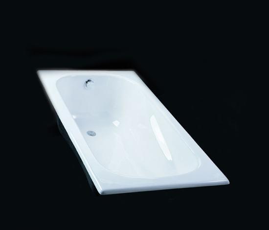 得而达白色铸铁浴缸艾舍系列DT14051WHDT14051WH