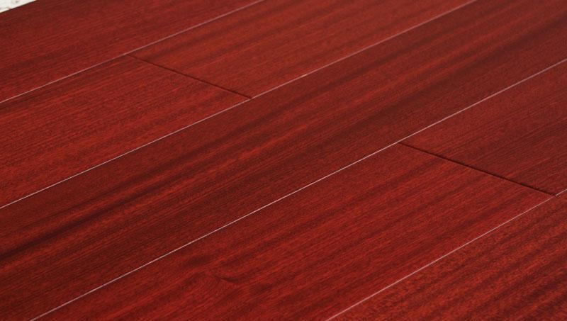卡玛尔创新生活实木复古系列司莆红木实木地板司莆红木