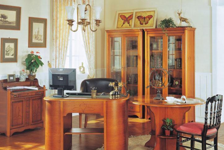 大风范家具洛可可书房系列RC-856多功能书桌RC-856多功能书桌