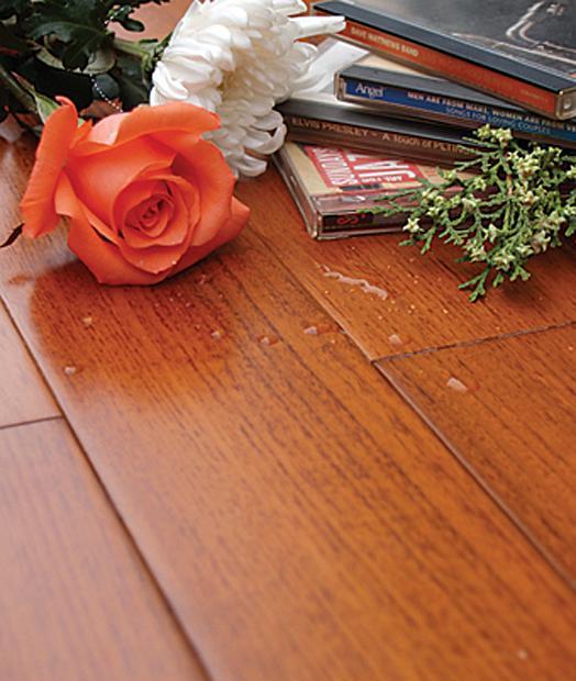 森林之旅精品直纹系列JPZWB1缅甸柚木实木地板JPZWB1