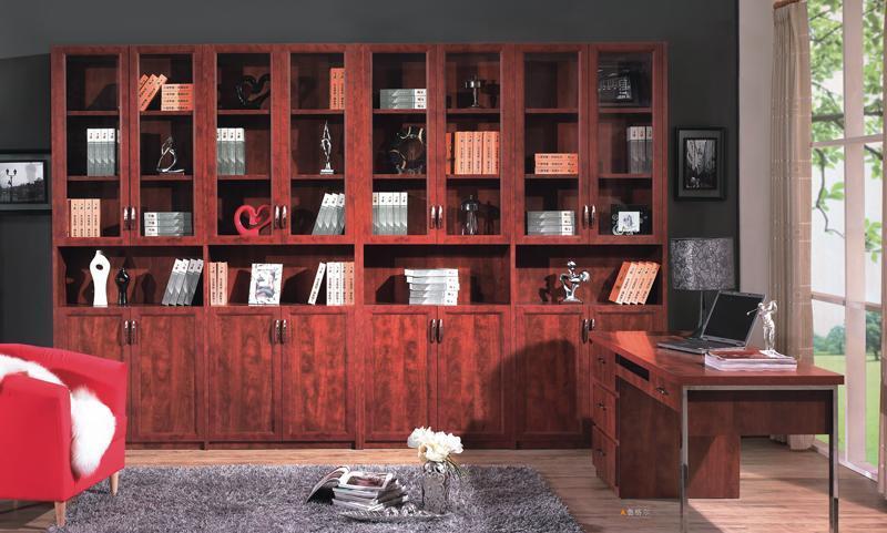 丹麦风情书柜新款美式门板美式门板