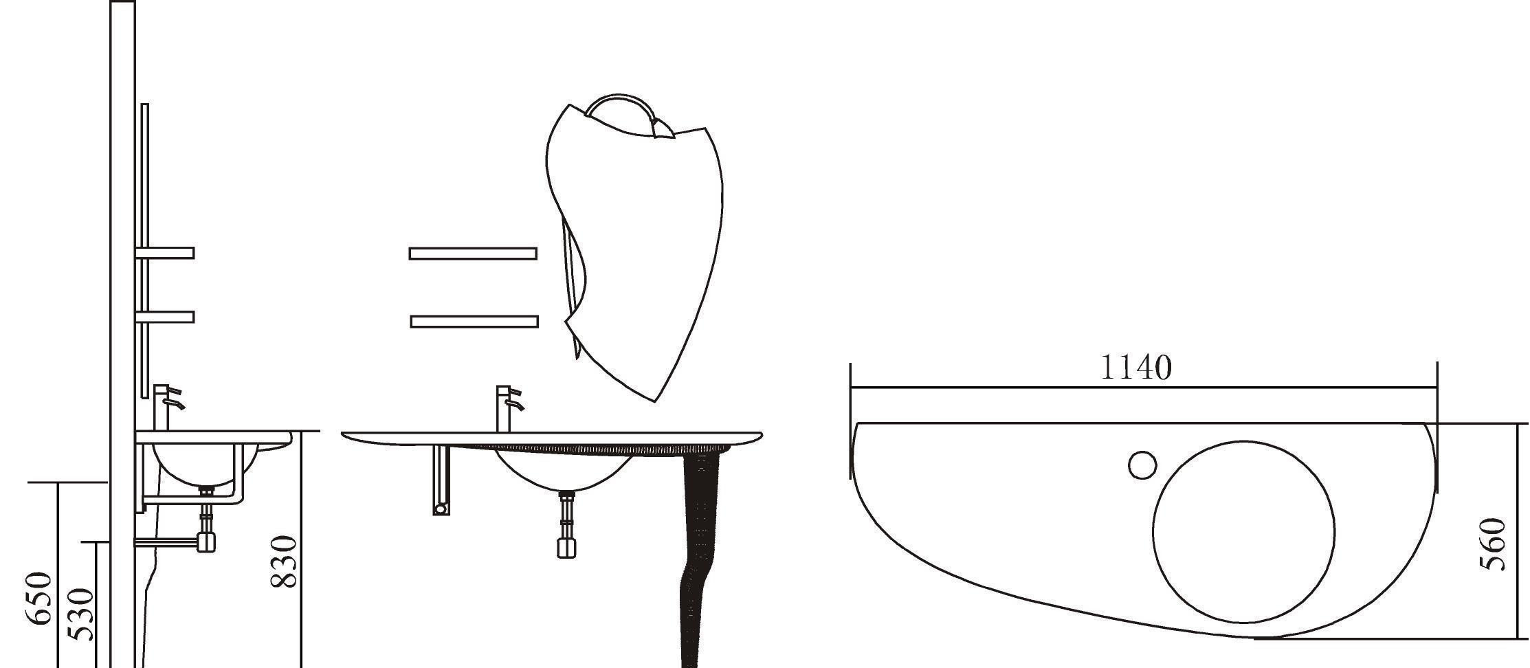 英皇浴室柜CR-1052CR-1052