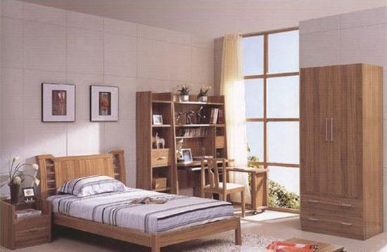 森盛家具卧房套装浅胡桃系列18