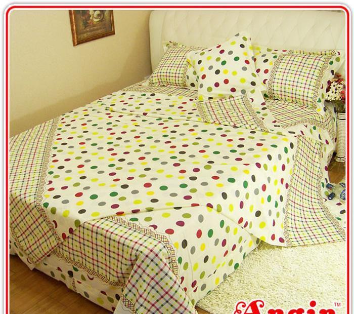 安寝家纺流行前沿高级斜纹床上用品四件套