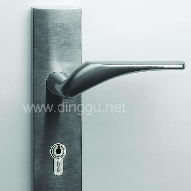 顶固B3808SN锌合金中弹子插芯门锁B3808SN