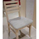 诺捷餐厅家具餐椅450*500*800白枫(带坐垫)