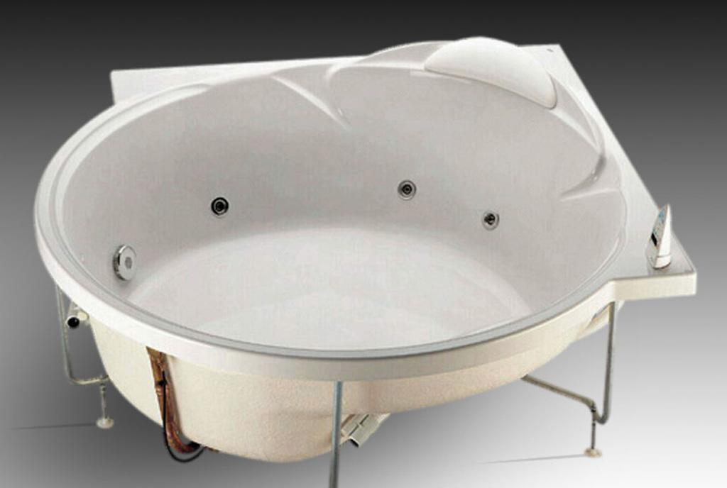 乐家卫浴华黛璐角形按摩浴缸2-44560..12-44560..1
