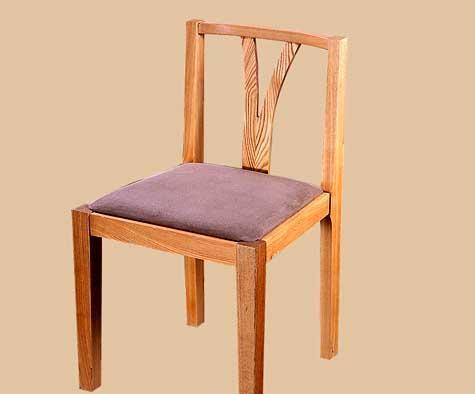 树之语全实木水曲柳原木系列B-餐椅1#B-餐椅1#